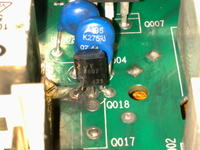Pralka Indesit WIN102 - usterka modułu