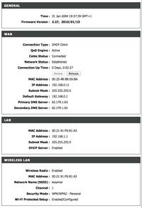D-Link DIR-615 - Modem UPC + D-Link DIR-615 rozłączanie Internetu co kilkadziesi