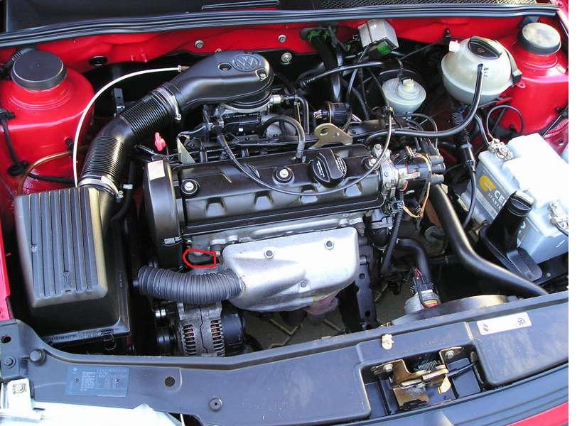 VW GOLF III - Uszczelka pod g�owic� a obroty.