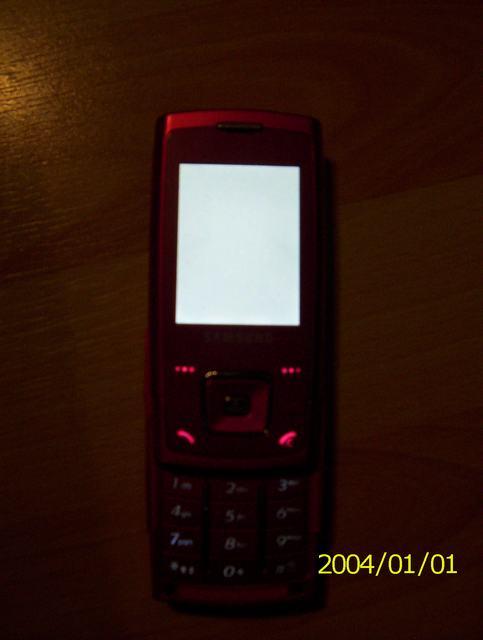 samsung e900 biały ekran