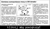 Amplituner Amator Dss101 -Jaki zamiennik dla koncówki UL1405