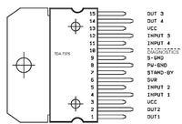 zamiana z TA8268H na TDA7375 w SONY XR-4300R
