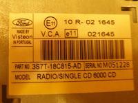 Radio Ford 6000 CD potrzebny schemat. (zdjecia)