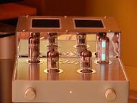 Bufor lampowy 2 x ECC82 + magiczne oczko by JAP