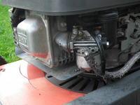 Husqvarna Royal 48s z silnikiem kawasaki - regulacja