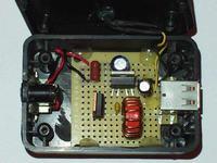 Podwójna ładowarka USB z regulatorem przełączającym.