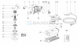 Metabo SXE 425 XL - Szlifierka oscylacyjna - uszkodzenie mimośrodu/łozyska?