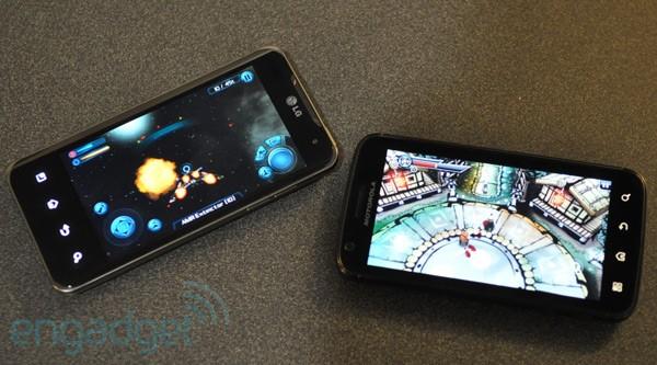 Nvidia prezentuje gry Tegra 2 na Atrix 5g i Optimus 2x