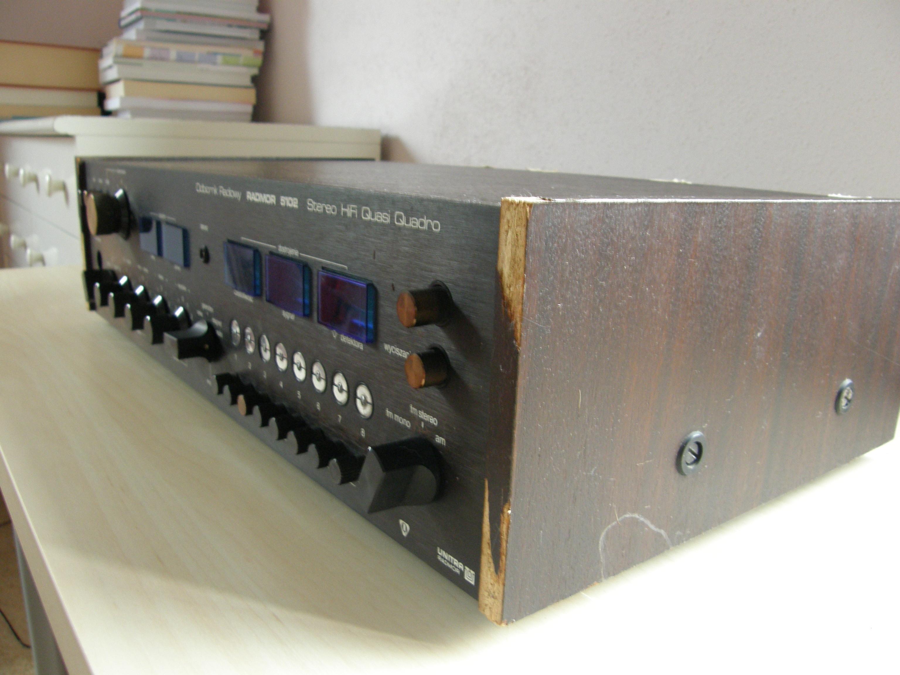 [Sprzedam] Radmor 5102 Stereo Hi-Fi Quasi Quadro