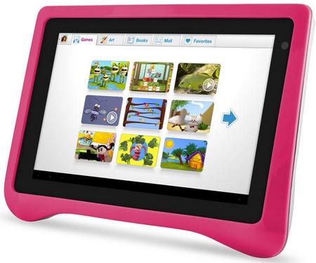 """Ematic FunTab Pro - 7"""" tablet dla najmłodszych z Androidem 4.0"""