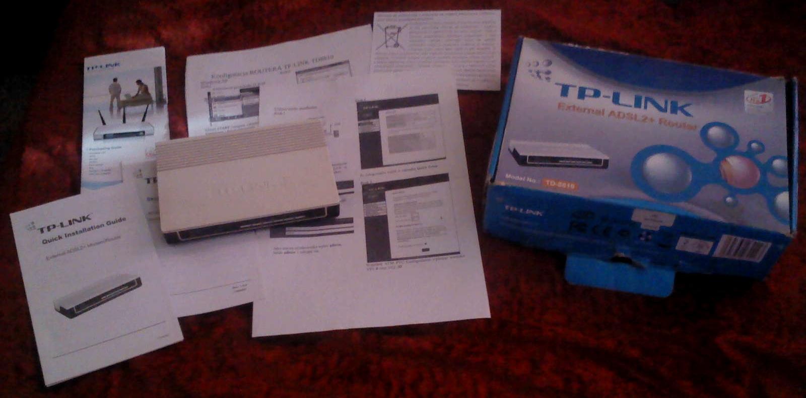 [Sprzedam] Router TP-link TD-8810 za dyszk�