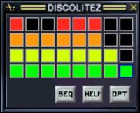 Discolitez - sterowanie 32 diodami poprzez USB