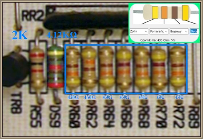Pralka Brandt WM61200 - spalony element RR2 (co to?)