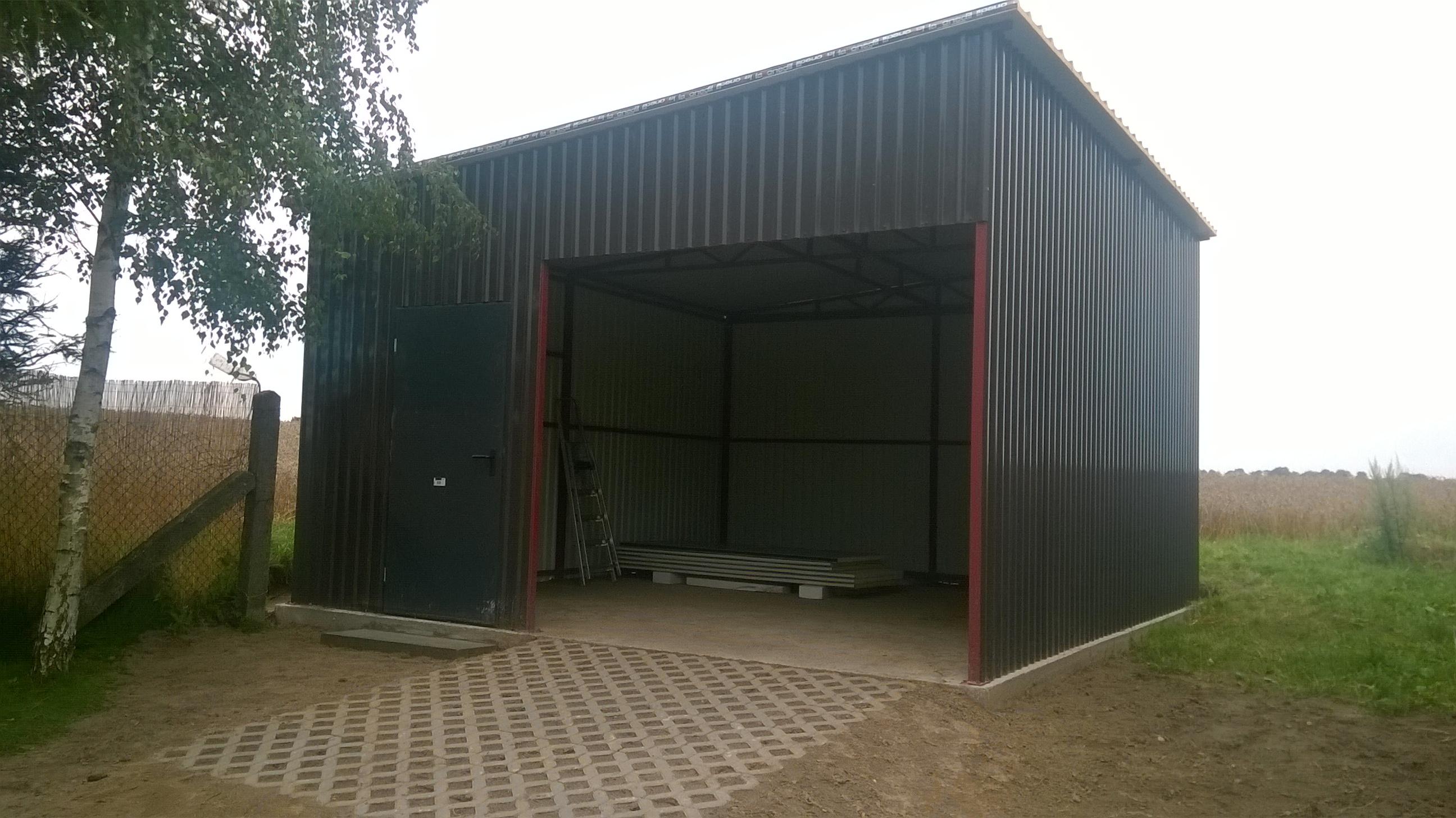 Dodatkowe Ocieplenie od wewnątrz garażu blaszanego. - elektroda.pl CM62
