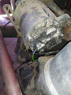 ursus c 330 - alternator nie ładuje.