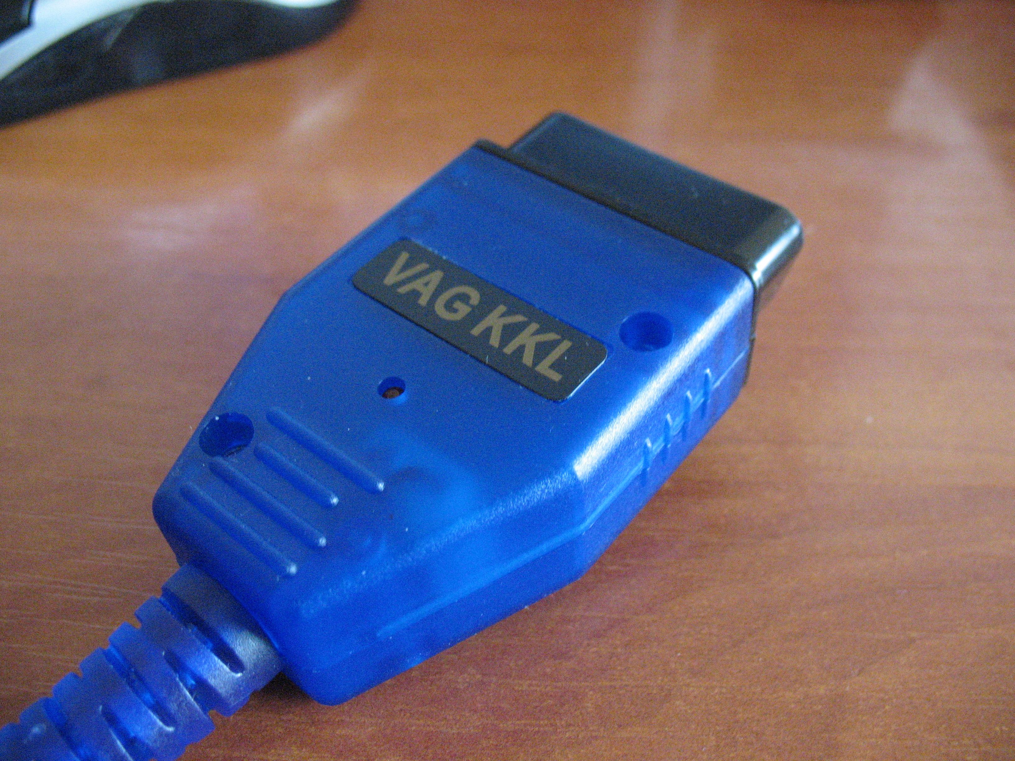 VAG - Przer�bka kabla z USB na RS232