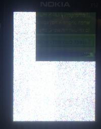 Nokia E52 problem z wy�wietlanym obrazem.