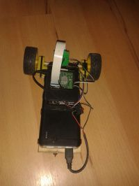 Robot Line Follower na Raspberry Pi + kamerka
