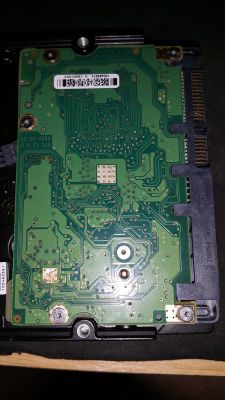 ST3500320AS - uszkodzony dysk, odzysk danych potrzebny, przełożenie elektroniki