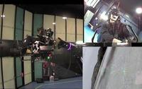 Symulator lotu ulepszony o mechaniczne rami�