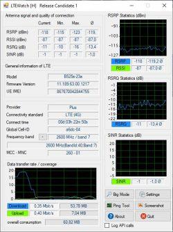 Jaki to nadajnik sieć PLUS 2600 MHz