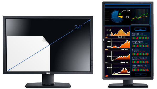 "Dell UltraSharp U2412 - profesjonalny monitor IPS LED 24"" 1920x1200"