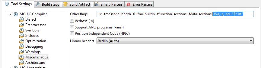 objdump disassemble arm binary options