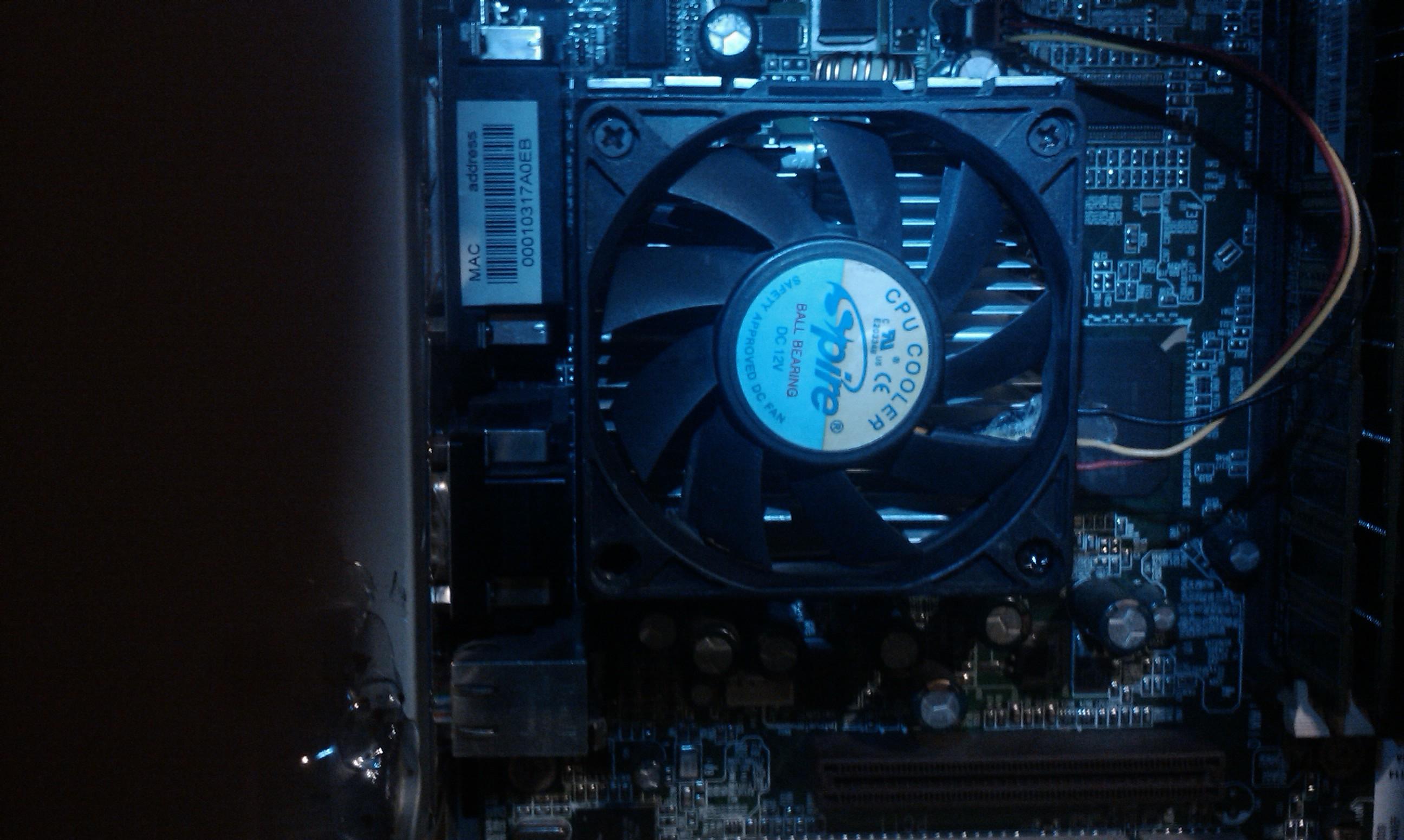 Pentium 3 933 Mhz - Uruchomienie procesora na samym radiatorze bez wentylatora?