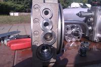 Niewłaściwie działający agregat rampy hydraulicznej