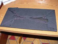 """Regeneracja maskownicy w kolumnie - sposób na """"przyklejenie"""" tkaniny"""