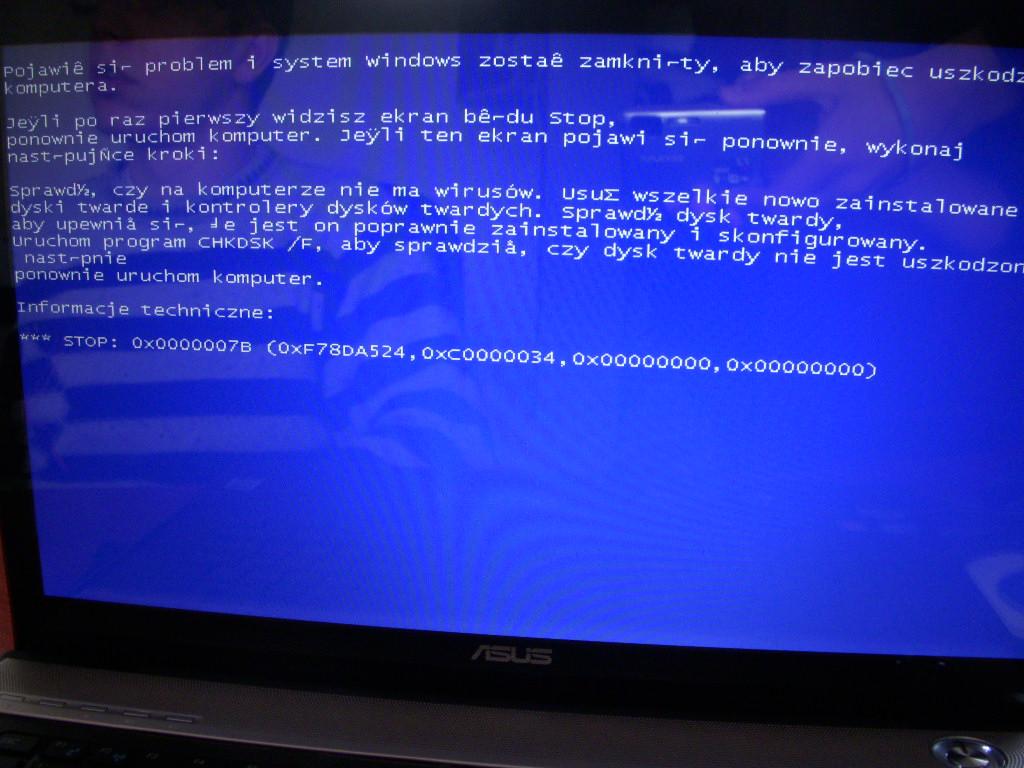 Nie mog� zainstalowa� windowsa xp na nowym laptopie