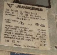 Pod��czenie regulatora temperatury EUROSTER 2026 do JUNKERS 24-2kp