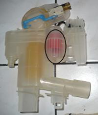 Zmywarka Siemens SE59490EU/12 - Nie dzia�a sterowanie rozdzia�em wody g�ra/d�