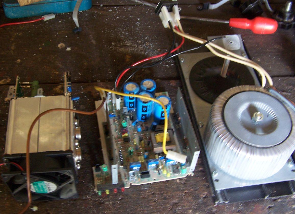 Bouyer PA 1150 / szukam schematu wzm. radiow�z�owego