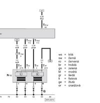 skoda fabia 1,4 44 kw - Nie pali na 1 i 4 cylinnder