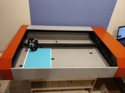 CNC plotter with drag knife + CAM software