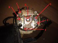 Yamaha fz 750 - niesprawna pompa paliwa (odlutowany kabel)