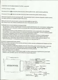 Suzuki Grand Vitara I - Sterownik z pilotem RTX KE2 dołożony do fabrycznego cz