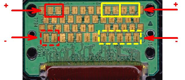 Canon, ip4600, migajace na przemian diody 10x
