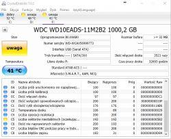 Błąd danych CRC - duży plik RAR na dysku zewnętrznym