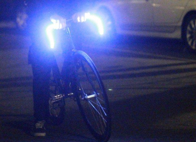 O�wietlenie LED-owe dla nocnych rowerzyst�w