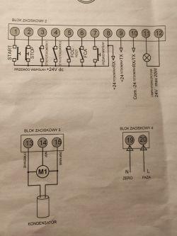 Proteco Q60S + odbiornik radiowy PST 433FN - podłączenie