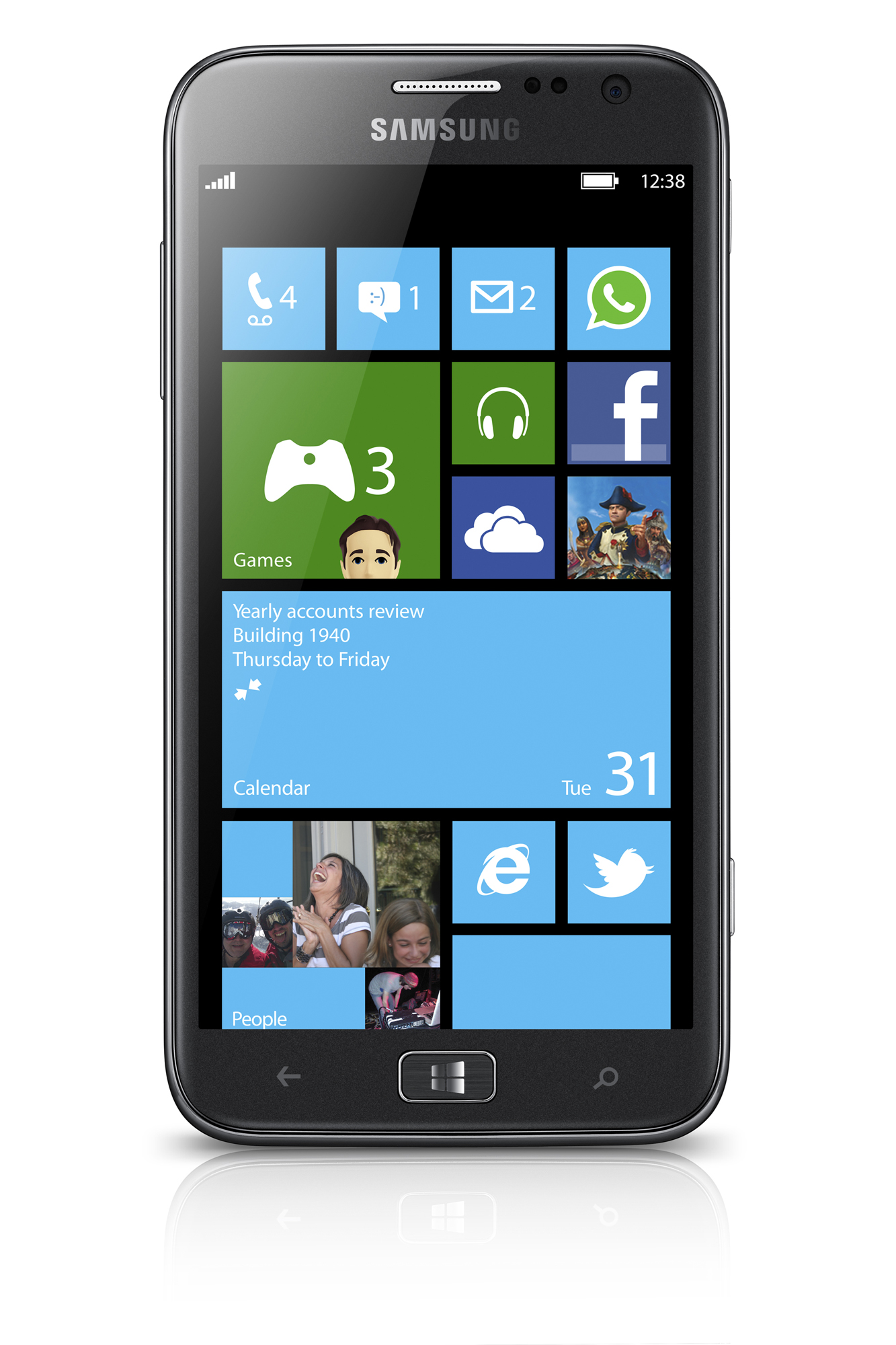 "Samsung Ativ S - smartphone z 4,8"" ekranem i Windows Phone 8"