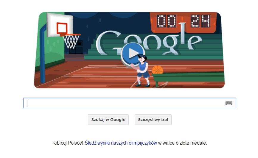 Interaktywne Google Doodle z okazji Igrzysk Olimpijskich