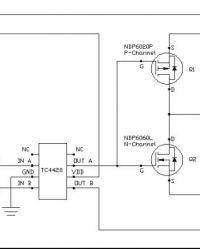 Półmostek H - Zabezpieczenie układu | sterownik bramki