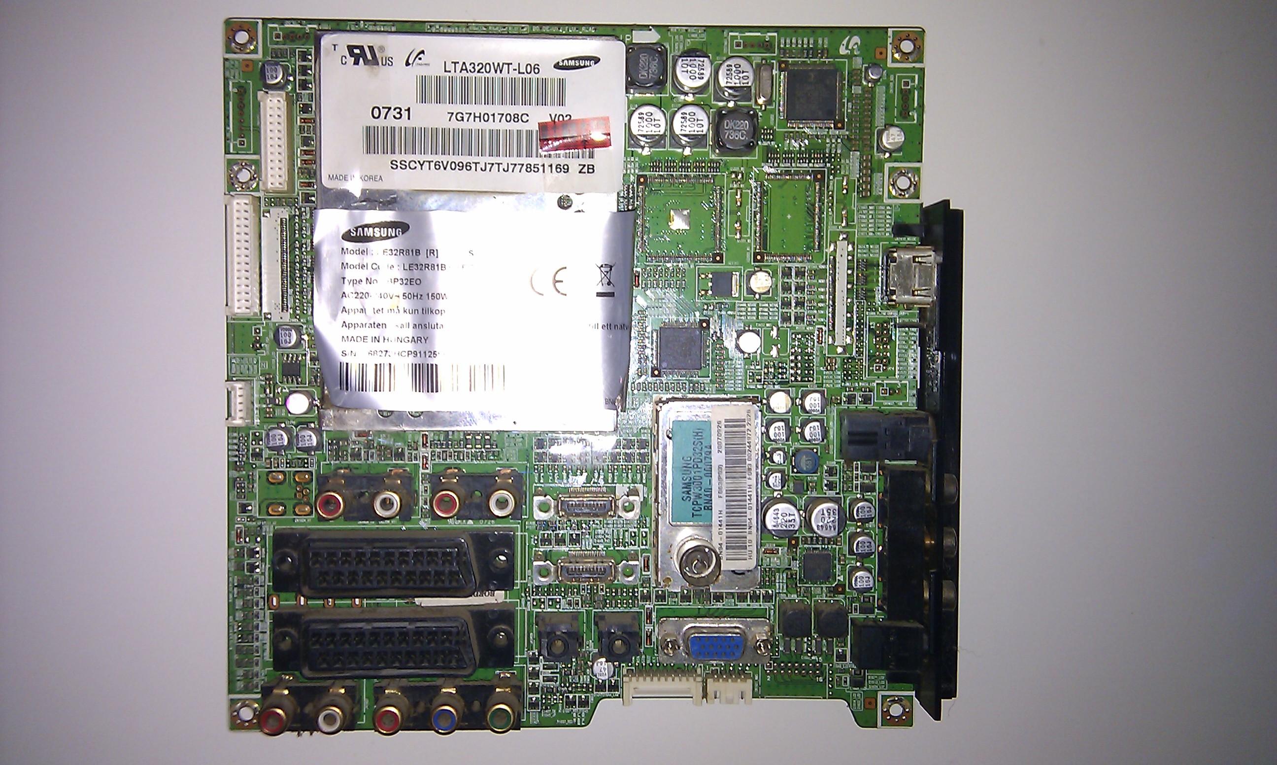 [Sprzedam] Wszystkie moduly z telewizora Samsung Samsung LE32R81BX/XEC