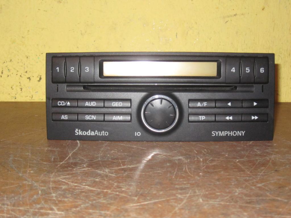 Fabia I 2007 radio nie czyta p�yt