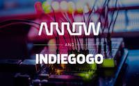 Nowa platforma crowdfundingowa powstaje we współpracy Arrow i Indiegogo