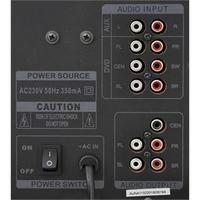 Jak mogę podłączyć amplituner Panasonic SA-HE 90 i zestaw głośników 5.1