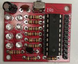 8-kanałowy moduł, odbiornik IR z pilotem - recenzja